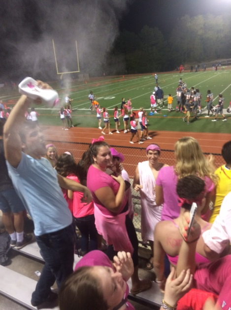 Fans go crazy after North Springs takes lead
