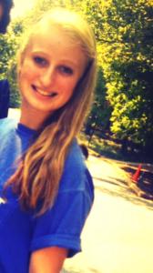 Lexi as a freshman