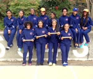 North Springs' winning track team