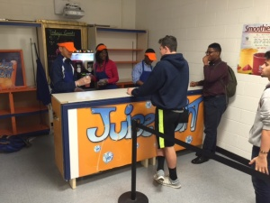 "FONS loan to the Business classes helped found the popular ""Juice Joint"""