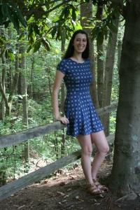 Szabo's favorite teacher is art teacher Lauren Dellaria