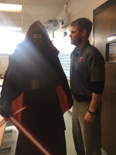 Mr. Bengston Shouts Kylo Down