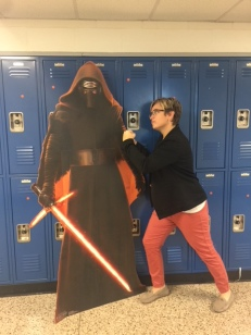 Ms. King Dukes it out with a Dark Lord