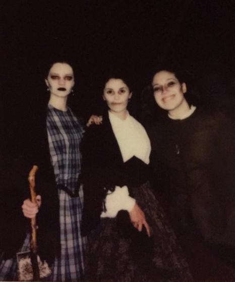 Left to right: Margaret Thomas, Elaine Berger, Annalise Hardin er, Alma Kent (photo: Elaine Berger)
