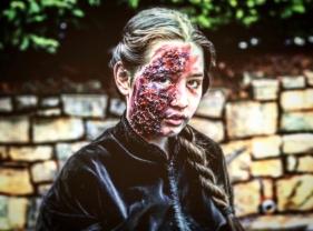 Alma Kent is the walking dead (photo: Genevive Cortez)